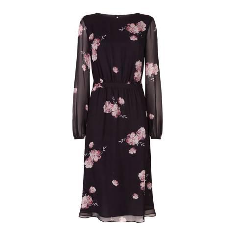 Fenn Wright Manson Black/Multi Primrose Dress