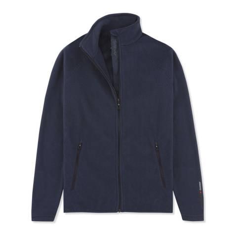 Musto True Navy Crew Fleece Jacket