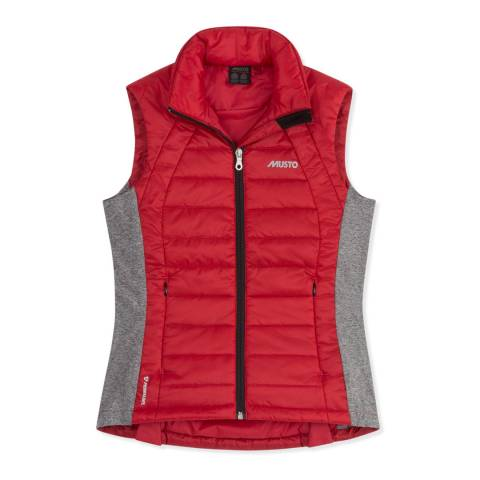 Musto Red Action Primaloft Gilet