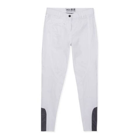 Musto White Essential Breeches