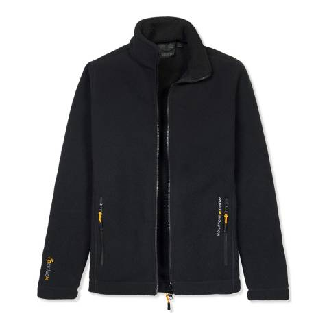 Musto Black Deck Fleece Jacket