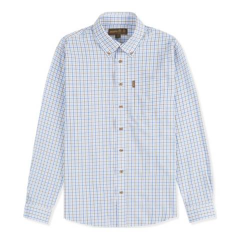 Musto Blue Classic Button Down Shirt