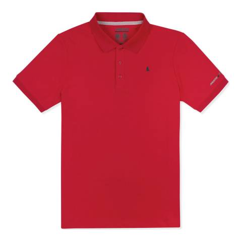 Musto Red Evolution Pro Short Sleeve Polo