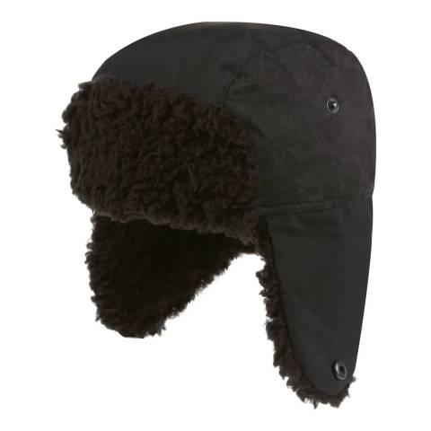 Regatta Boy's Black Tavis Trapper Hat II