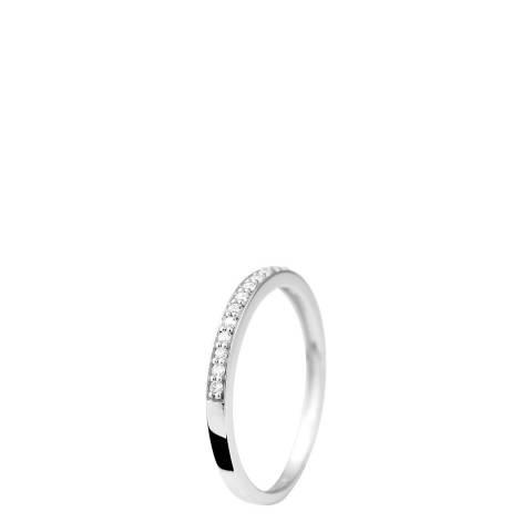 Dyamant White Gold Diamond Ring 0.15 Cts