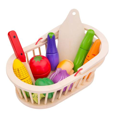 New Classic Toys Vegetable Basket