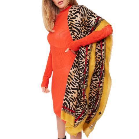 JayLey Collection Animal Print Silk & Cashmere Blend Wrap