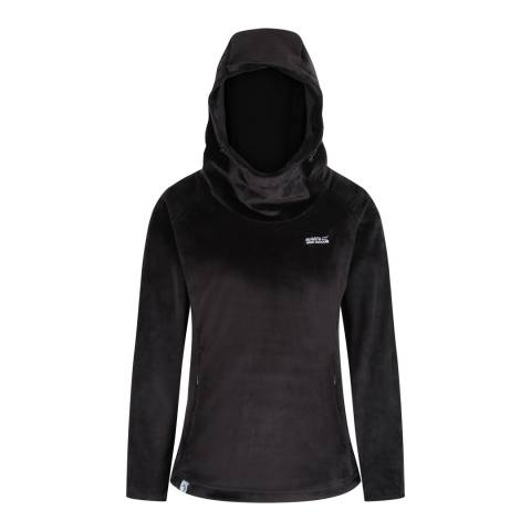 Regatta Black Halia Zip Fleece