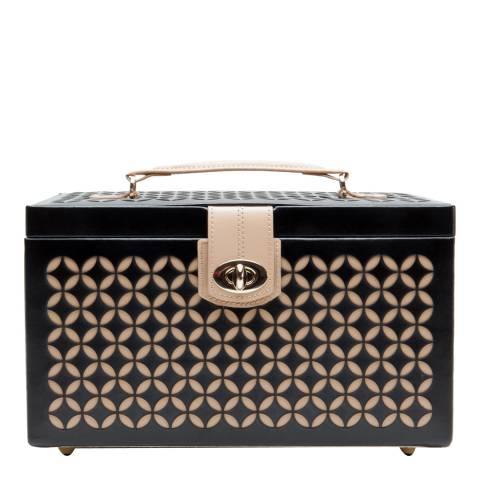 WOLF Black Chloe Medium Jewellery Box