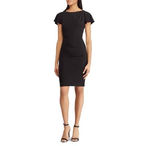 Lauren Ralph Lauren Black Rigley Jersey Dress