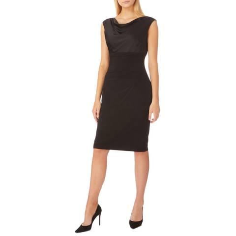 Lauren Ralph Lauren Black Chelley Jersey Dress