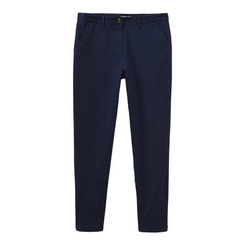 Crew Clothing Navy Chinos