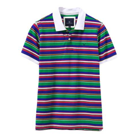 Crew Clothing Multi Stripe Earlsfield Polo