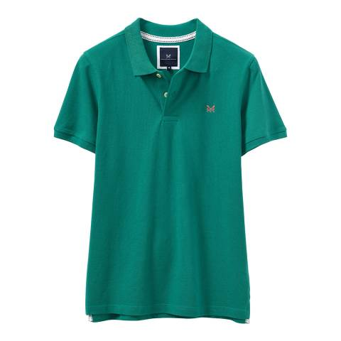 Crew Clothing Teal Melbury Polo T-Shirt