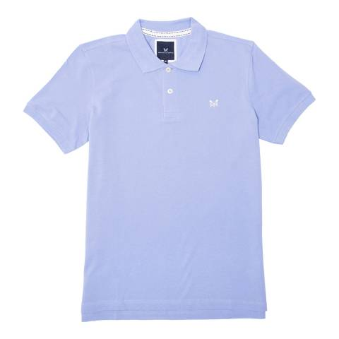 Crew Clothing Light Blue Melbury Polo T-Shirt