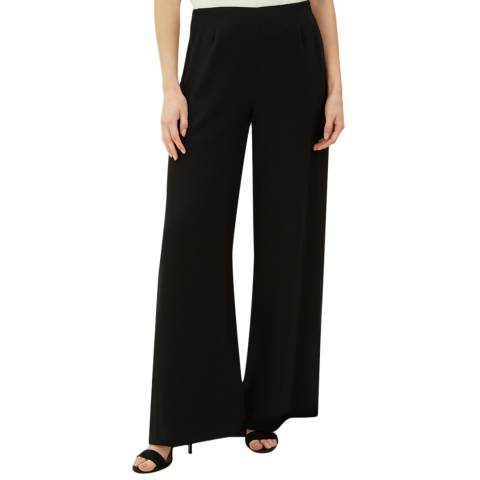 Jaeger Black Palazzo Trousers