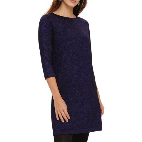 Phase Eight Deep Purple Sherri Knit Dress