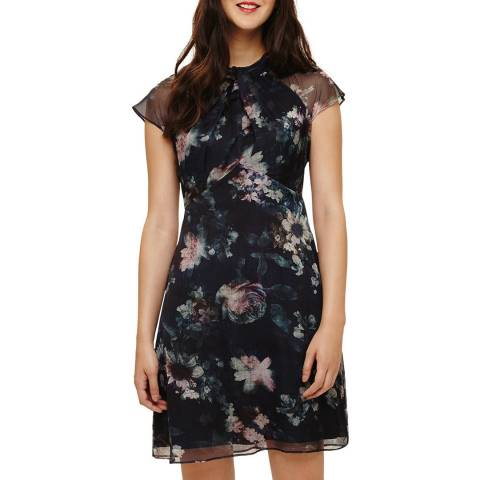 Phase Eight Black/Multi Imogen Floral Dress