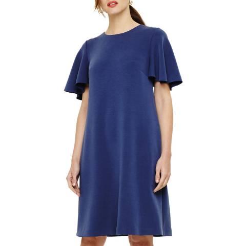 Phase Eight Blue Sari Dress