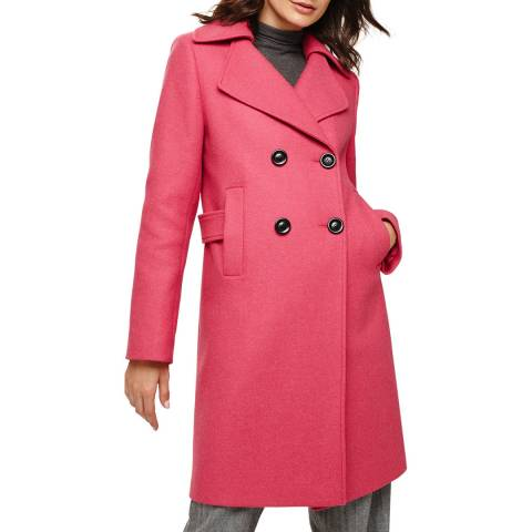 Phase Eight Pink Fairlie Coat