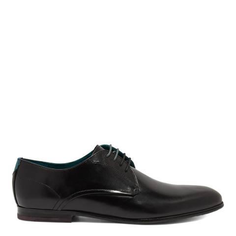 Ted Baker Black Fonntan Leather Derby Shoe