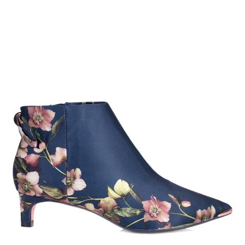 Ted Baker Blue Amaedip Floral Printed Ankle Boot