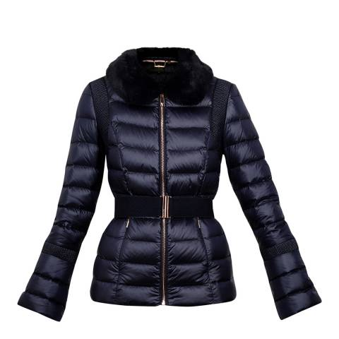 Ted Baker Navy Yelta Down Jacket