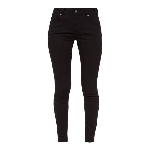 Ted Baker Black Crystal Stripe Skinny Jean