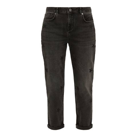 Ted Baker Black All Over Star Embellished Jean