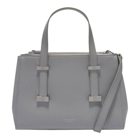 Ted Baker Grey Small Alyssaa Leather Tote Bag