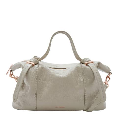 Ted Baker Taupe Large Oellie Knotted Handle Tote