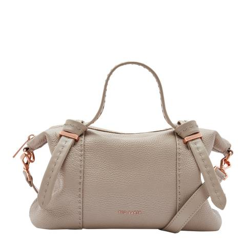 Ted Baker Taupe Small Oellie Knotted Handle Tote