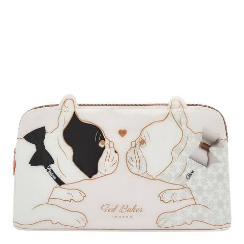 Ted Baker Nude Pink Candice Cotton Dog Wash Bag