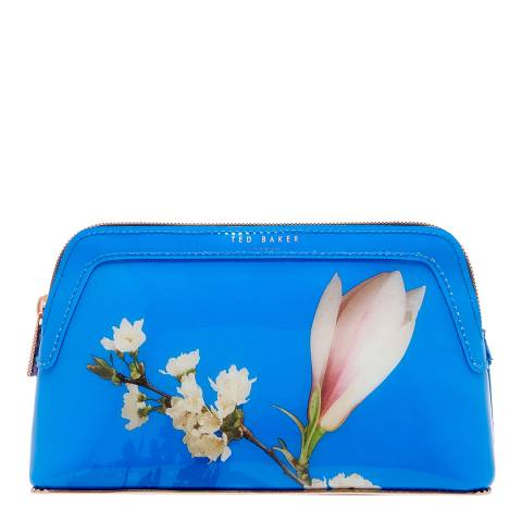 Ted Baker Blue Small Crush Harmony Makeup Bag