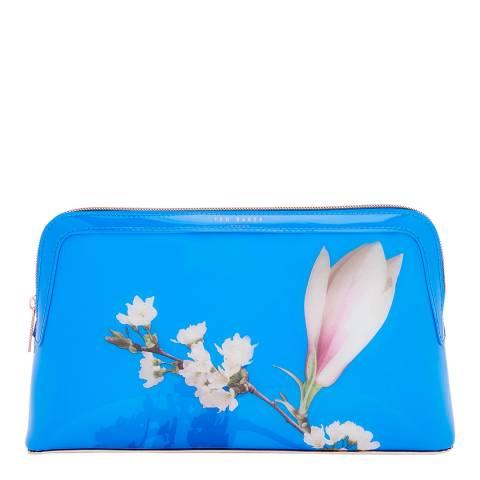 Ted Baker Blue Large Daisyy Harmony Makeup Bag