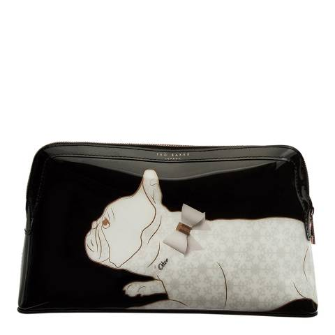 Ted Baker Black Miracle Cotton Dog Wash Bag