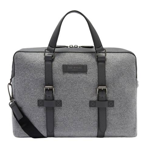 Ted Baker Grey Wool Document Bag