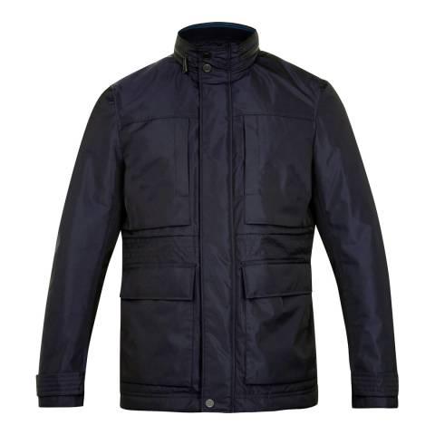 Ted Baker Navy Nylon Field Jacket