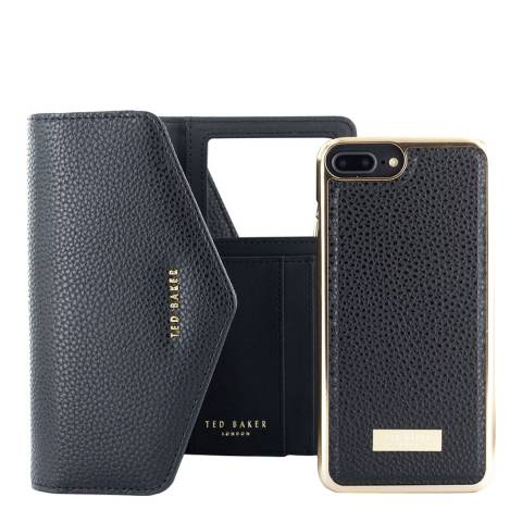 Ted Baker Black SELIE iPhone 7/8 Plus Crossbody Case