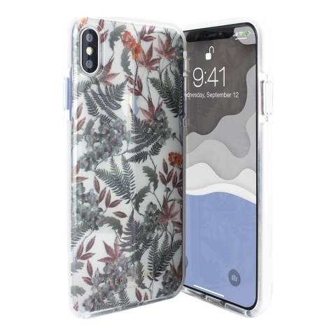 Ted Baker Olympia iPhone XS Max Anti Shock Clear Case