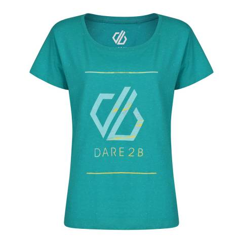 Dare2B Green Glow Up Tee