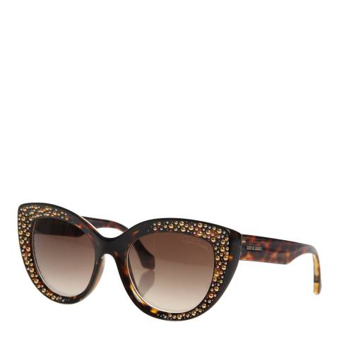 Roberto Cavalli Women's Brown Roberto Cavalli Sunglasses 54mm
