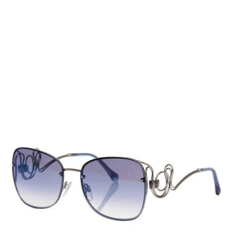 Roberto Cavalli Women's Silver Roberto Cavalli Sunglasses 58mm