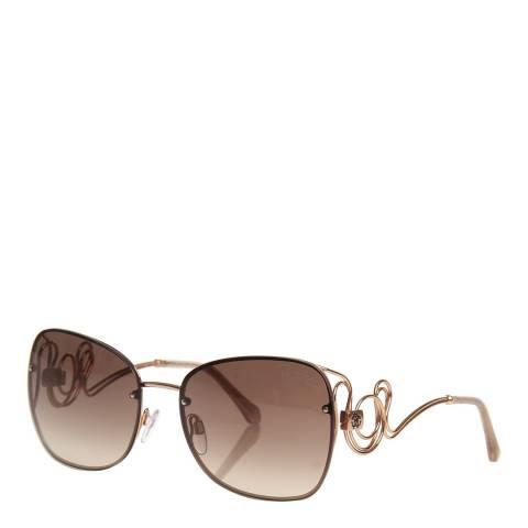 Roberto Cavalli Women's Gold Roberto Cavalli Sunglasses 58mm