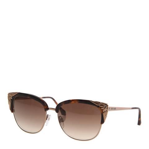 Roberto Cavalli Women's Gold Roberto Cavalli Sunglasses 56mm