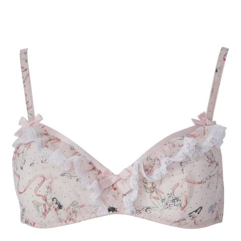 Agent Provocateur Pink Cinta Soft Cup Bra