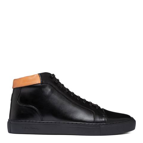 Oliver Sweeney Black Normanby High Top Sneaker