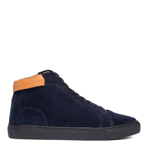 Oliver Sweeney Dark Navy Normanby High Top Sneaker