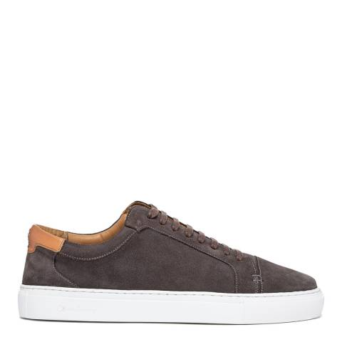 Oliver Sweeney Grey Suede Tollesby Low Top Sneaker