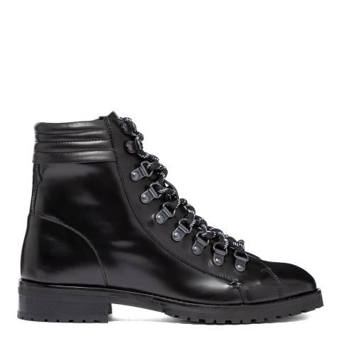 Oliver Sweeney Black Alvarenga Hiker Boots